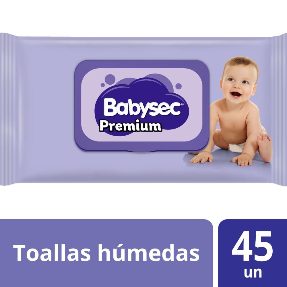 Toallas Humedas Babysec Premium Flexiprotect 45 un P